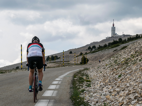 Ascension du Mont-Ventoux