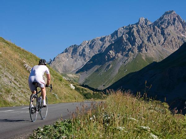 Cyclisme et col du galibier