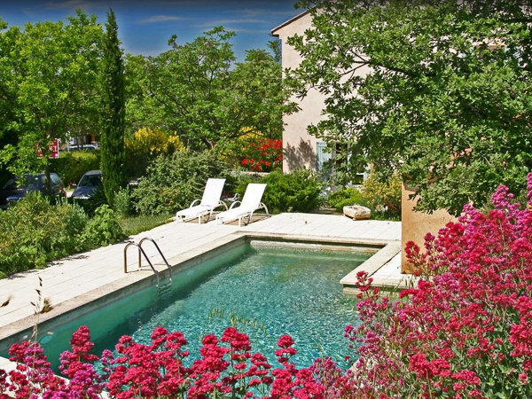 Hotel Garance swimming pool, Provence, France