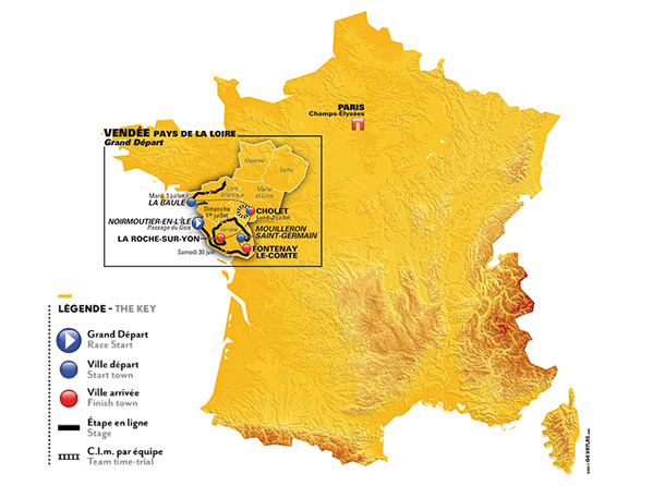 Tour de France 2018 – Route Rumours