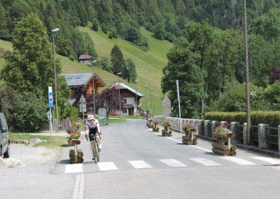 Biking in the Aravis