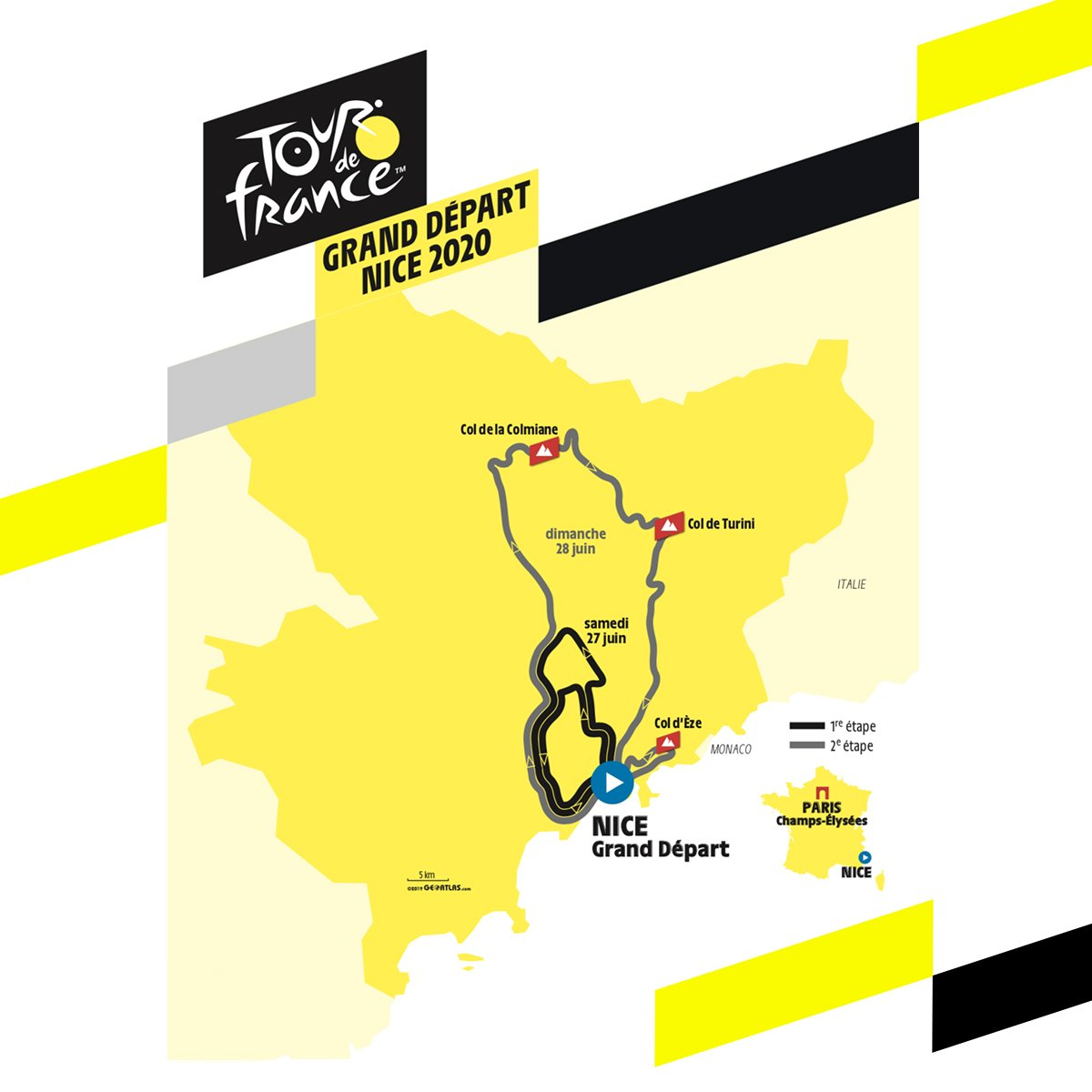 2020 Tour De France Stages.Tour De France 2020 Route Rumours Bike Weekender